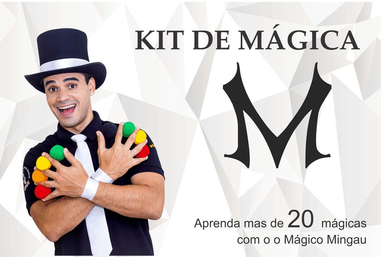 kit de magicas do magico MINGAU  B+