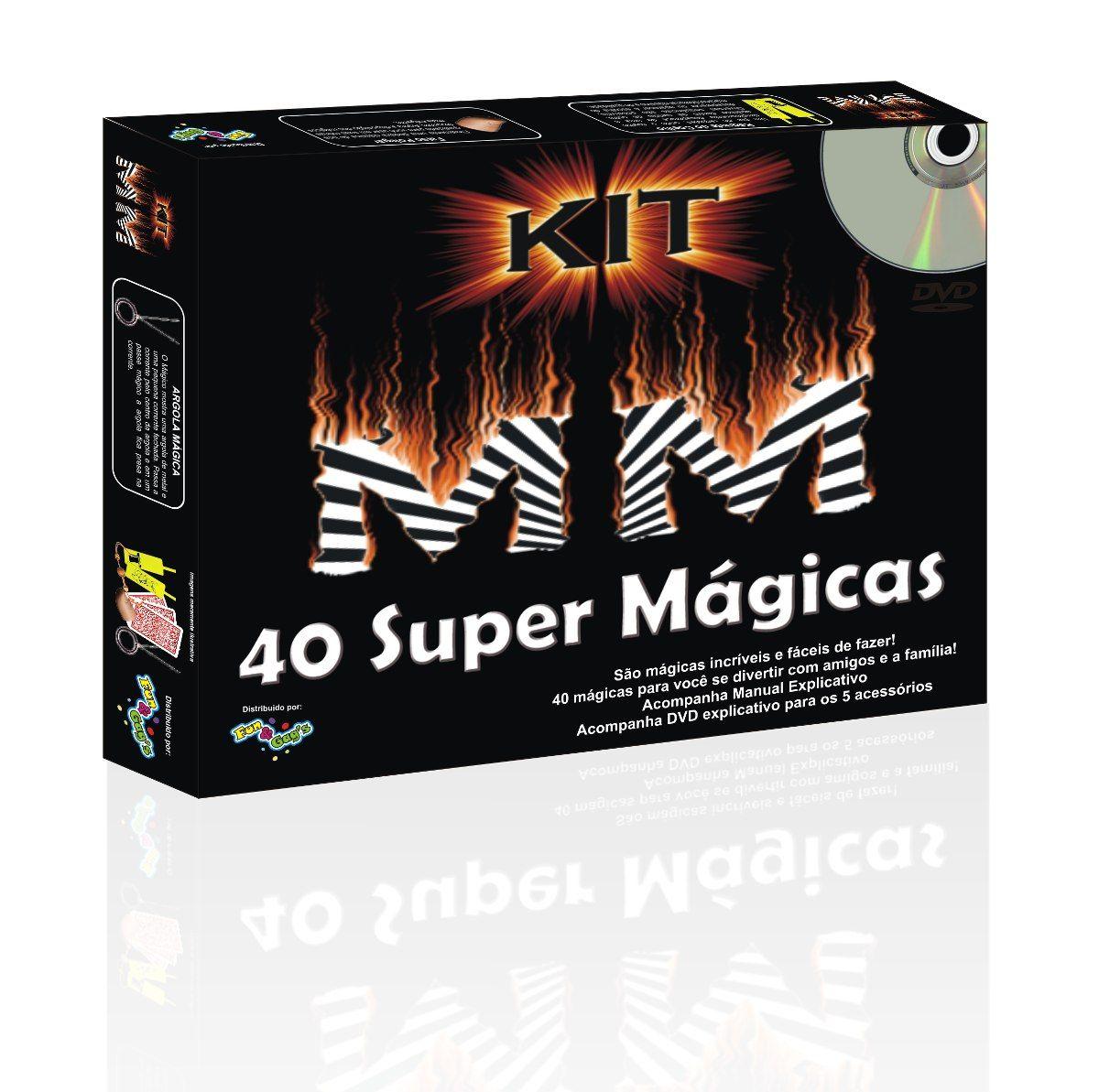 Kit de Mágicas Mister M MM  R+