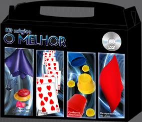 Kit de magica  'o Melhor' 2 - Fabricante Magic Up - 5 acessórios de magicas R+