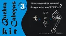 Kit Quebra Cabeça - Enigma Level 3 R+