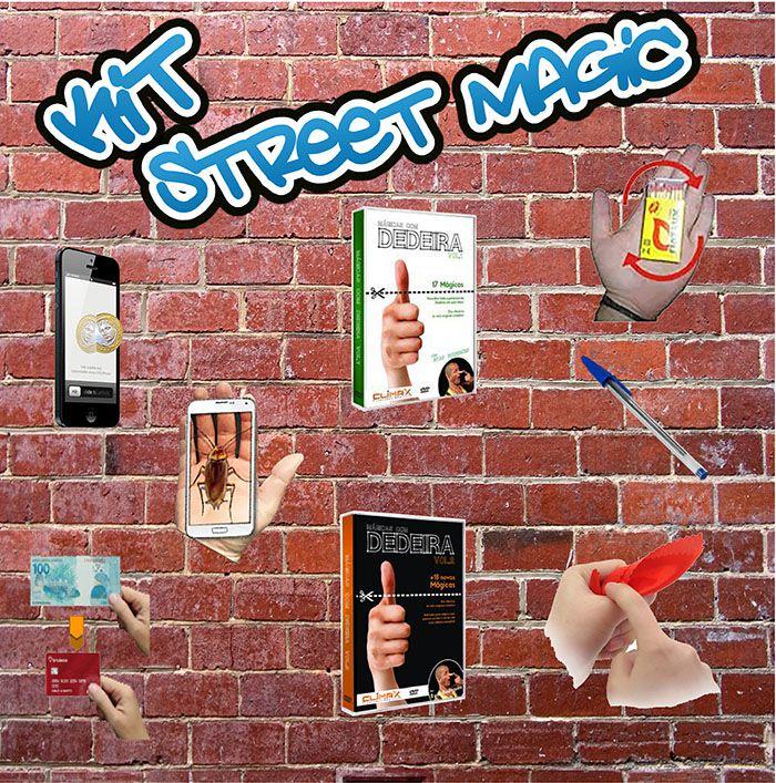 Kit Street Magic - Mágicas de Rua