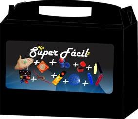Kit de magica  super Fácil 5  - 9 acessorios- a partir de 6 anos  Fabricante Magic up R+
