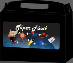 Kit de magica  super Fácil 6  - 9 acessórios- a partir de 6 anos  Fabricante Magic up Y+