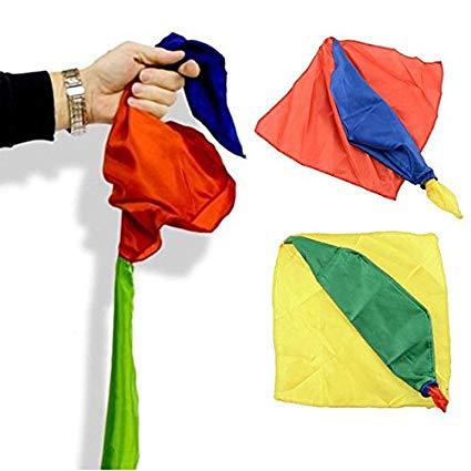 Lenco Muda De Cor - Double Changing Handkerchief - Coleção Fast Magic N 30 R+