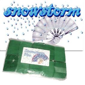 LEQUE + SNOWSTORM PLUS NEVE CHINESA - VERDE