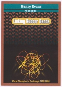 LINKING RUBBER BANDS+ SANADA GIMMICK