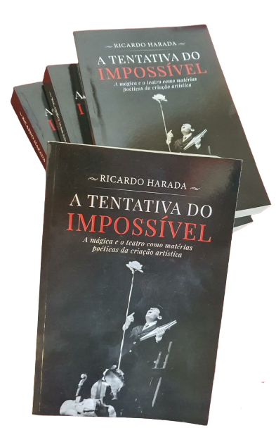 Livro A Tentativa do Impossível - Ricardo Harada B+