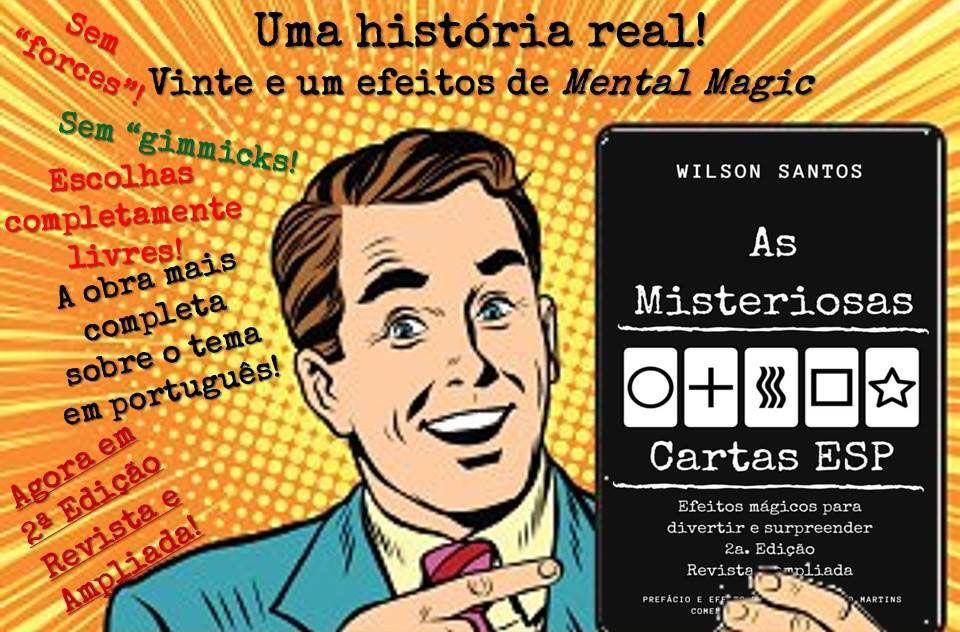 Livro As Misteriosas Cartas Esp -Wilson Santos M+