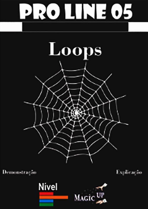 Loops- Coleção Magica profissional n 05 - Mentalismo - Magic Proline B+