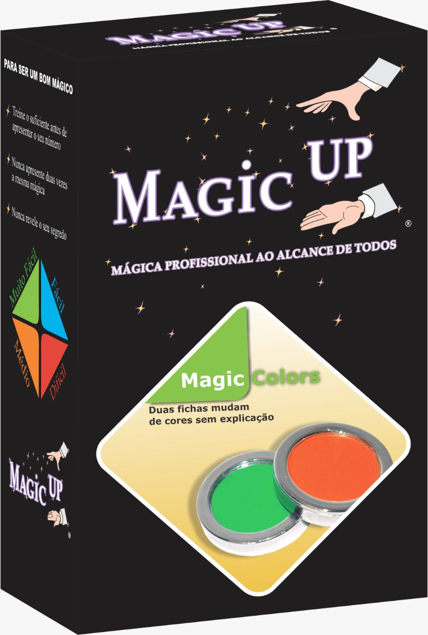 Magic Colors - poker chip polka -  Coleção Classic N 05 B+