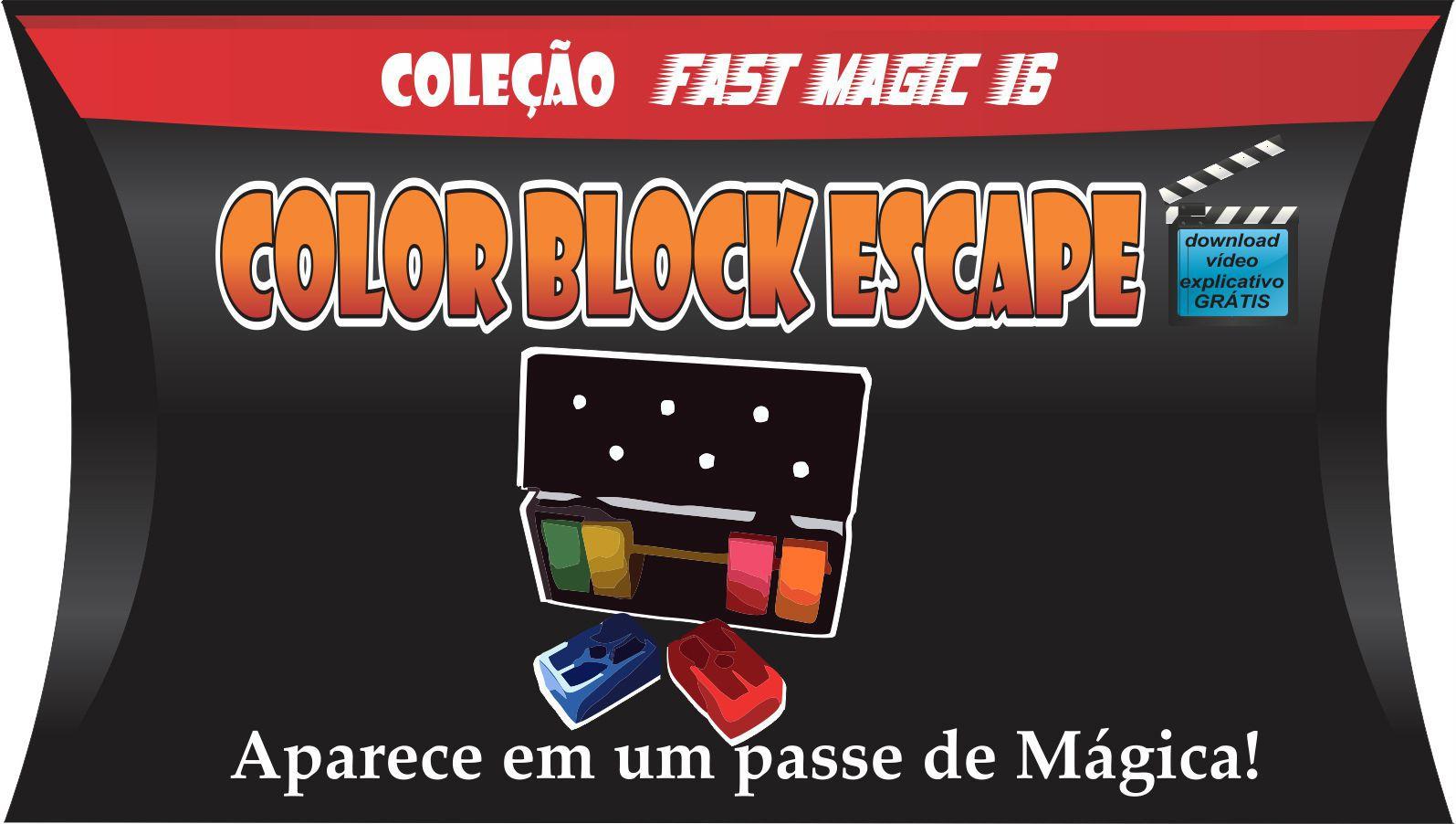 Magical Color Block Escape - Coleção Fast Magic N 16 R+