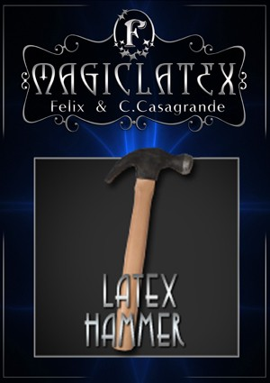 MARTELO LATEX HAMMER - MAGIC LATEX