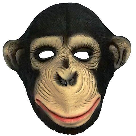 Máscara Macaco - 100% Látex (Spook) B+