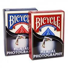 MENTAL FOTOGRAFY DECK - BARALHO NUDISTA OU BRANCO em BICYCLE