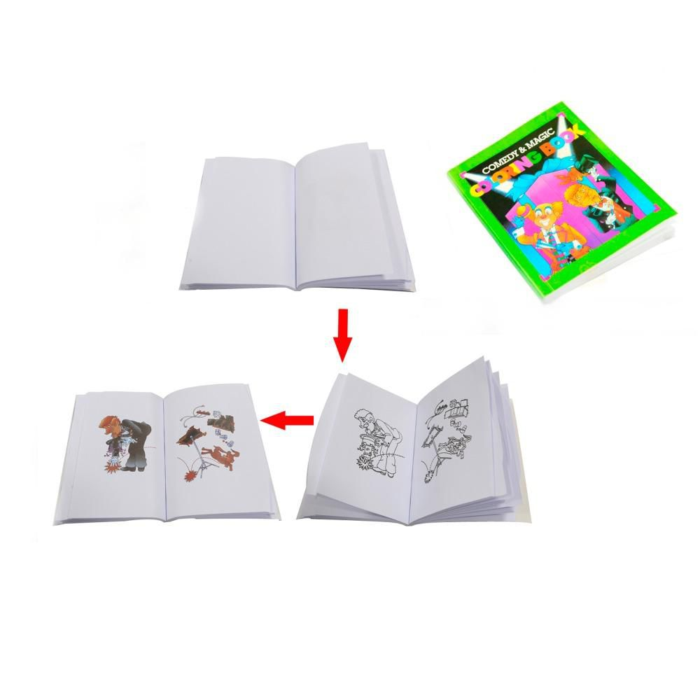 Mini Magic Coloring Book- Livro Mágico Miniatura. F+