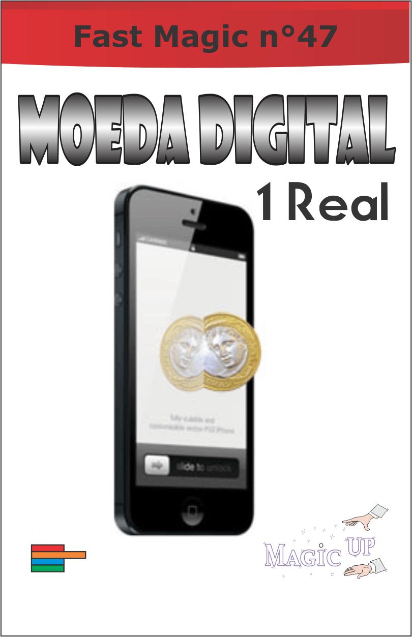 Moeda Digital de 1 Real - Coleção Fast Magic N 47 R+