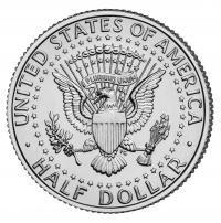 Moeda Half Dollar B+