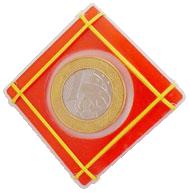 Moeda Houdini - Cristal Coin Case - Coleção Fast Magic N 04 R+