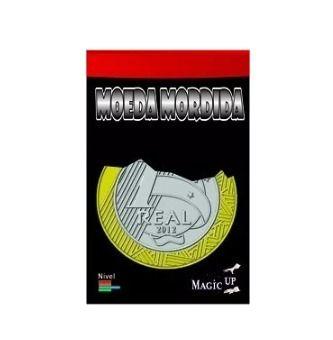 Moeda Mordida 1 Real