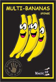 Multi Banana Sem Fim Espuma - Endless Bananas + Dvd - Sponge - Par G+