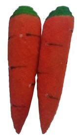 2 Cenouras Sem Fim 14cm  - Multi Carrots  - Endless Carrots  - Sponge Espuma Cenoura R+