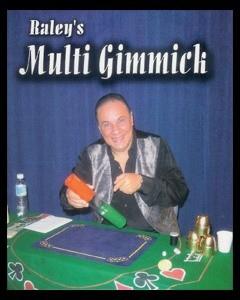 Multi gimmick + Dvd em português - Raley R+