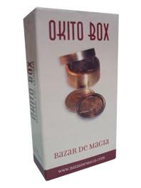 OKITO COIN BOX - 25 CENTAVOS DORADO