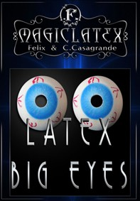 OLHOS GRANDES LATEX BIG EYES (PAR)