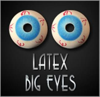 Olhos Grandes Latex Big Eyes Par B+