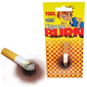 Pagadinha do cigarro que queima a mesa , Cigarette Burn