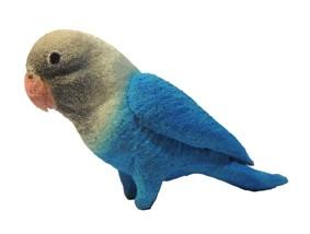 Papagaio De Esponja  - Sponge Espuma Azul R+