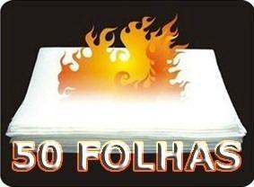 Papel Flash (Flash Paper) - 50 Folhas. F+
