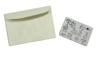 Papiro encantado - quatro de ouros revelação com papel flash