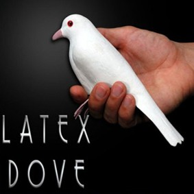POMBO LATEX DOVE WITH LEGS MAGICLATEX