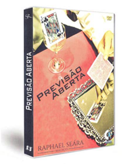 Previsâo aberta com dvd - Raphael seara R+