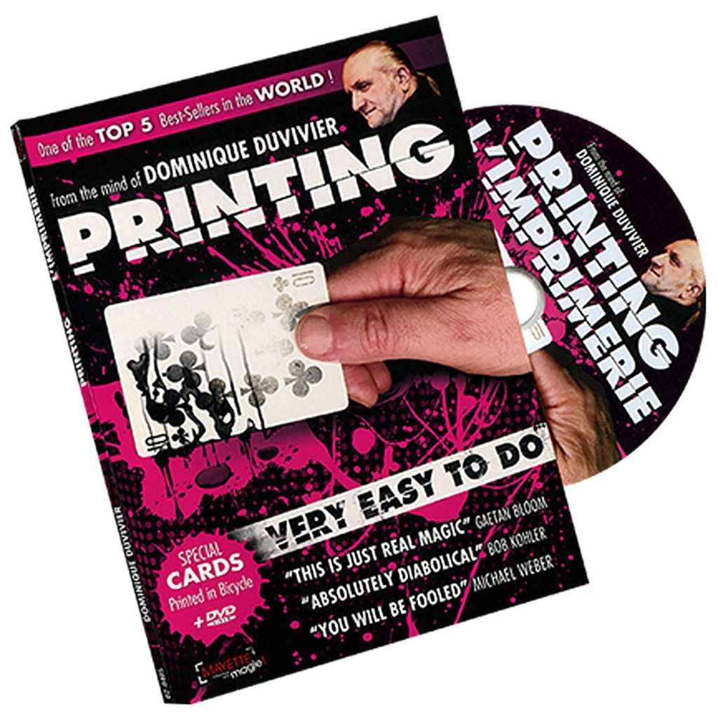 Printing 2.0 by Dominique Duvivier com Dvd J+