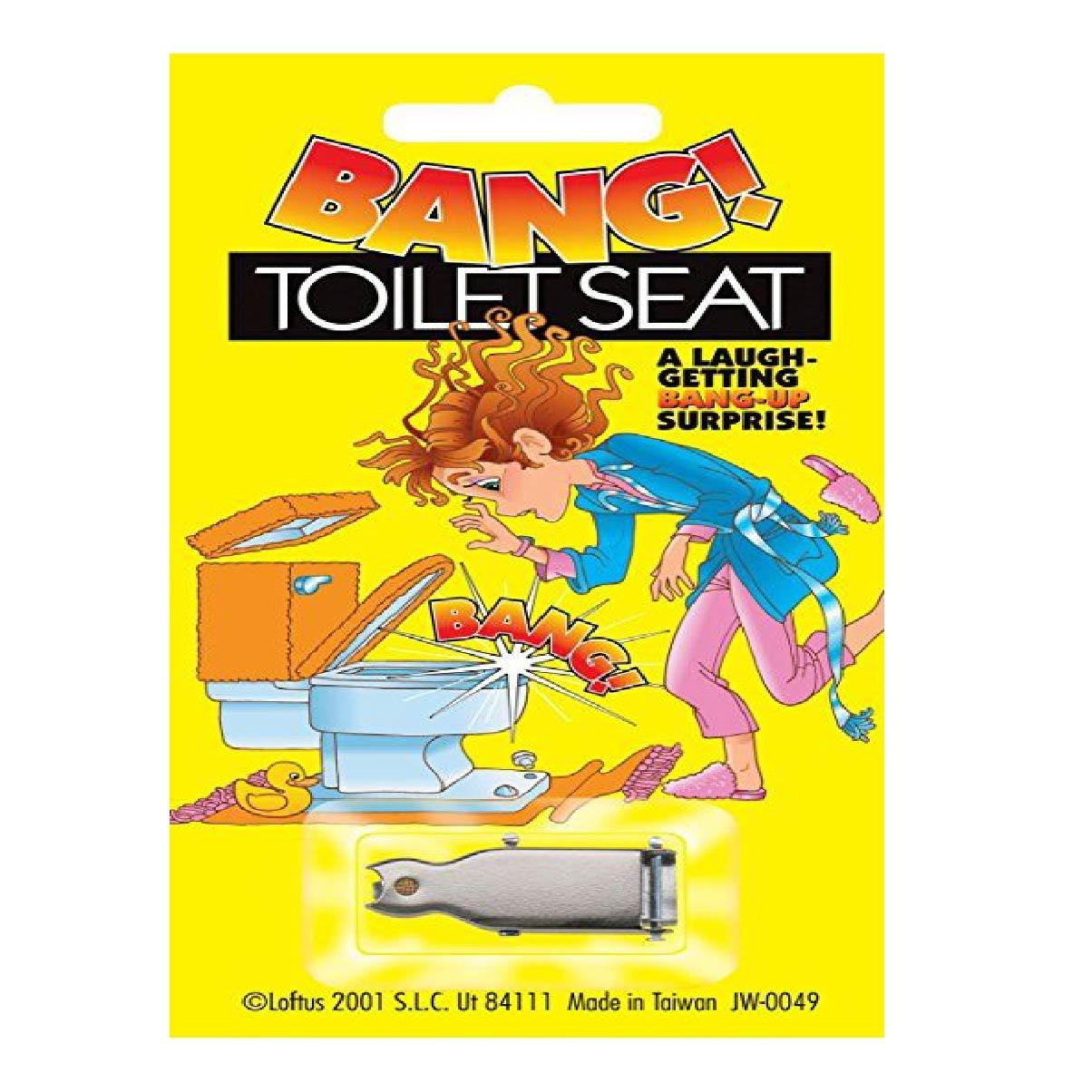 Privada Explosiva - Bang Toilet Seat. R+