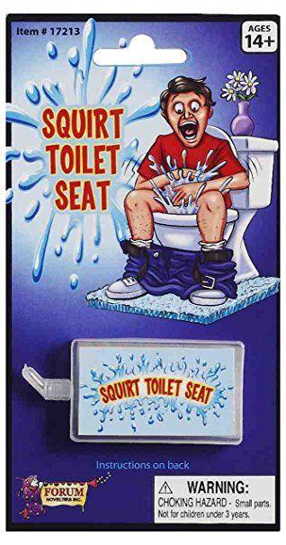 Privada Jato - Squirt Toilet Seat. F+