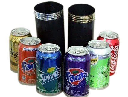 Produção das latas B+