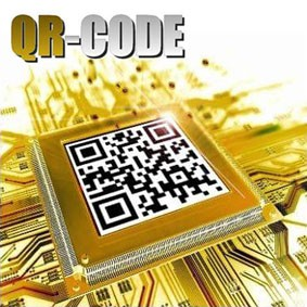 Qr Code By Mickael chatelain.  B+
