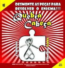 QUEBRA CABEÇA - FORMATO GARRA