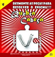 QUEBRA CABEÇA - FORMATO V
