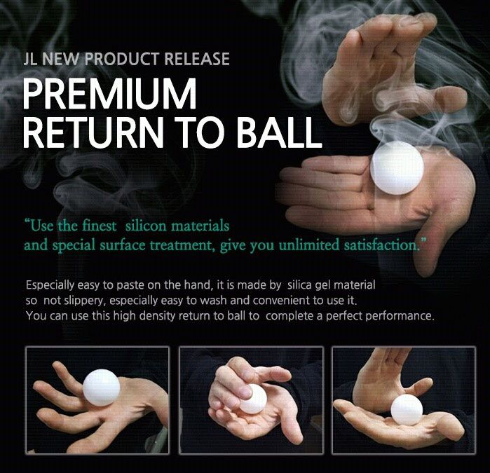 RETURN TO BALL By JL   1,7 inch