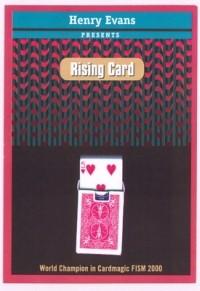 RISING CARD - henry evans