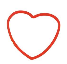 Rubberband Elástico Coração D+