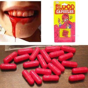 SANGUE DO VAMPIRO - blood capsules