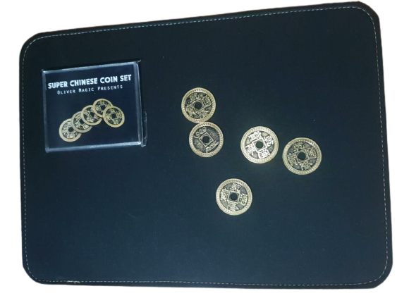set de moedas chinesas com casquilha - Super Chinese Coin Set B+