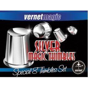 Silver Magic Thimbles Set R+