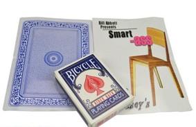 SMART -ASS (props and dvd) by Bill Abbott
