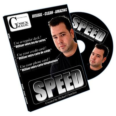 Speed By Mickael Chatelain Gimmick. F+